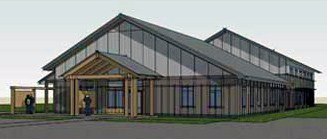 Finland Community Center drawing