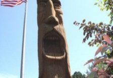 Finland's St Urho Statue